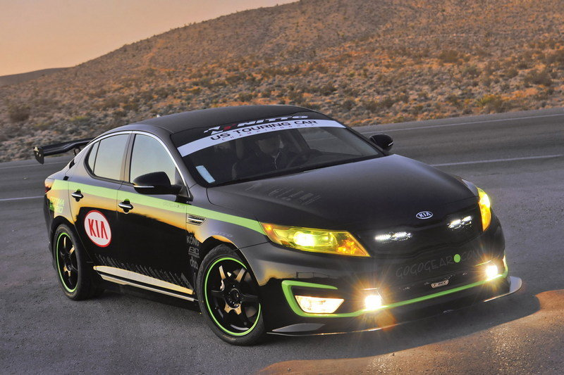 2012 Kia Optima Hybrid USTCC Pace Car