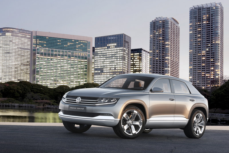 2012 Volkswagen Cross Coupe Concept High Resolution Exterior - image 428287