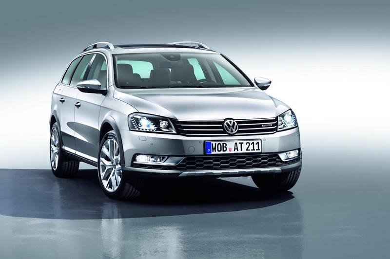 2012 Volkswagen Passat Alltrack High Resolution Exterior - image 427501