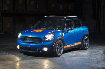 2011 MINI Countryman ALL4 by H&R Springs