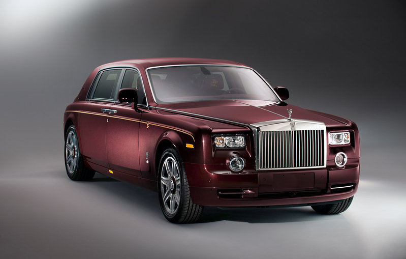"2011 Rolls-Royce Phantom ""Year of the Dragon"" Bespoke Collection"