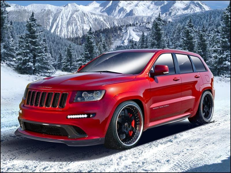 2012 Jeep Grand Cherokee SRT8 by Hennessey Exterior - image 431095