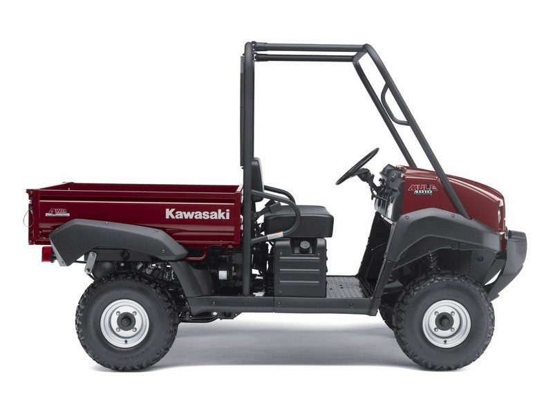 2012 Kawasaki Mule 4010 4x4 High Resolution Exterior - image 430862