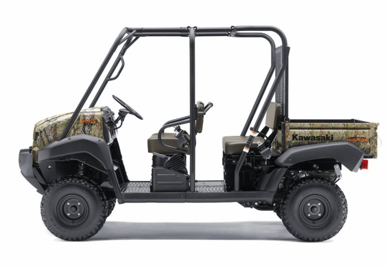 2012 Kawasaki Mule 4010 Trans4x4 Camo High Resolution Exterior - image 430654