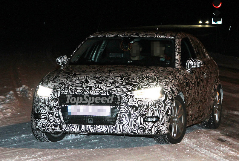 Spy Shots: Audi breaks in the winter testing grounds with the future A3