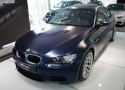 BMW M3 Frozen Dark Blue