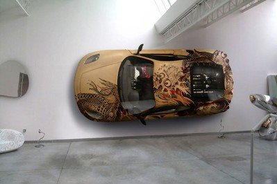 2011 Ferrari F430 Scuderia Art Car by Philippe Pasqua