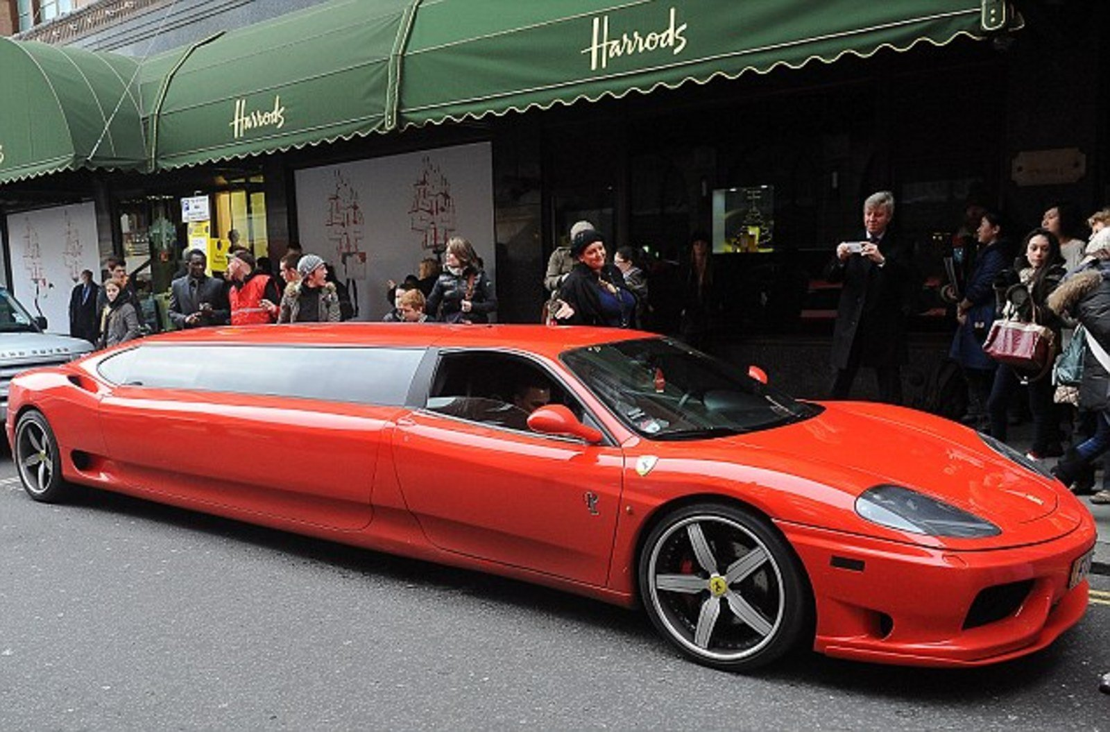 Ferrari 360 Modena Limousine The Perfect Ride For Santa