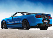 2013 Ford Mustang Shelby GT500 Convertible - image 431620