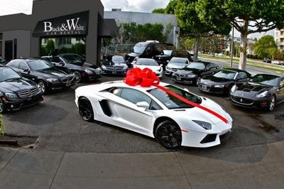 Lamborghini Aventador Available For Rent In Beverly Hills