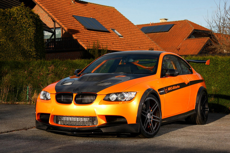 2011 BMW MH3 V8 RS Clubsport By Manhart Racing