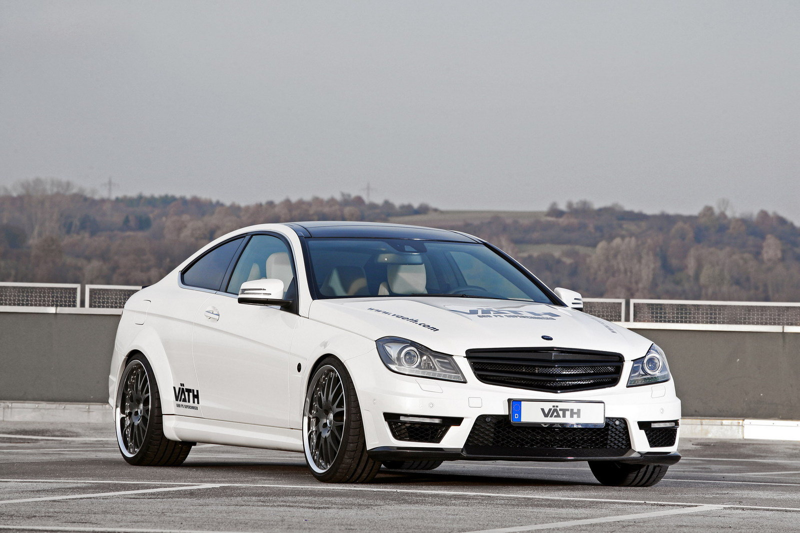2012 Mercedes C63 Amg Coupe V63 Supercharged By Vath Top