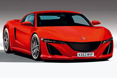 Next Honda NSX will feature a four-wheel-drive hybrid drivetrain