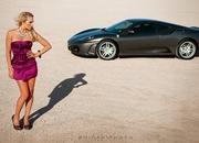 Photo Shoot: The Ferrari F430 has a thing for Blondes - image 429609