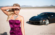 Photo Shoot: The Ferrari F430 has a thing for Blondes - image 429608