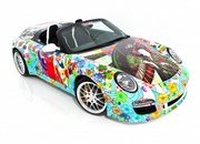 Porsche 911 Speedster Champion Motorsports Art Car by Miguel Paredes
