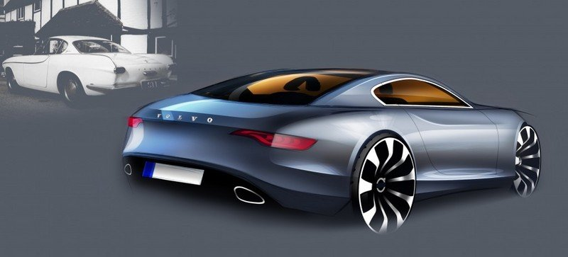 Volvo design chief sketches