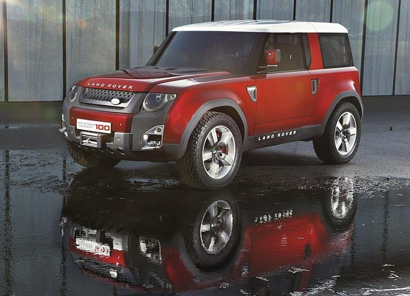 2011 Land Rover DC100 Concept High Resolution Exterior - image 432757