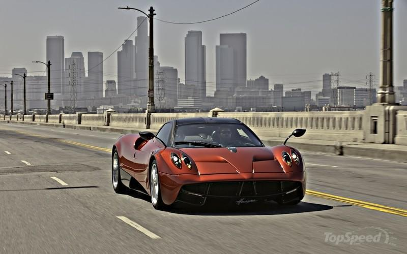 2011 Pagani Huayra High Resolution Exterior - image 432393