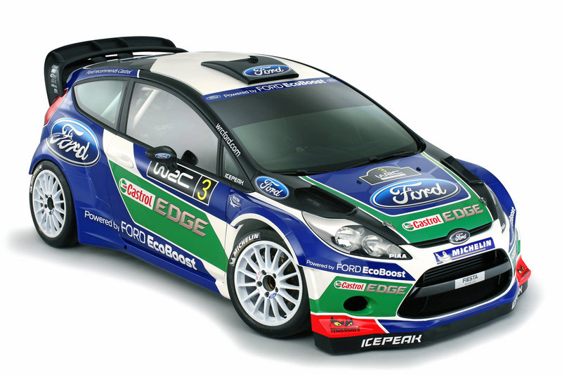 2012 Ford Fiesta RS WRC High Resolution Exterior - image 434088