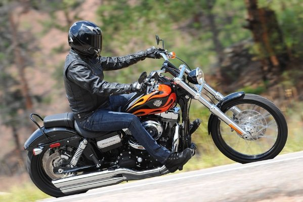 2012 Harley-Davidson Dyna FXDWG Wide Glide  motorcycle review @ Top