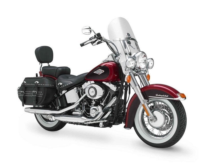 2012 Harley-Davidson FLSTC Heritage Softail Classic High Resolution Exterior - image 432818