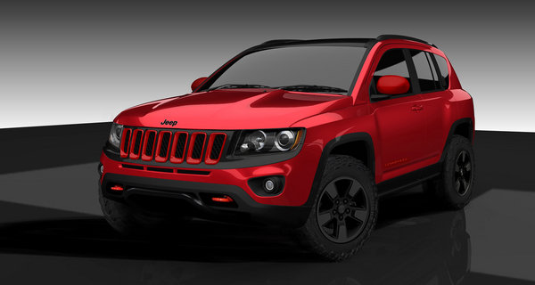 2012 jeep compass 39 true north 39 by mopar review top speed. Black Bedroom Furniture Sets. Home Design Ideas