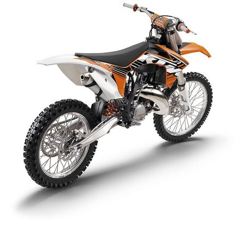2012 KTM 125 SX High Resolution Exterior - image 434993