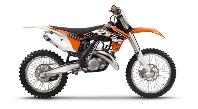 2012 KTM 125 SX High Resolution Exterior - image 434985