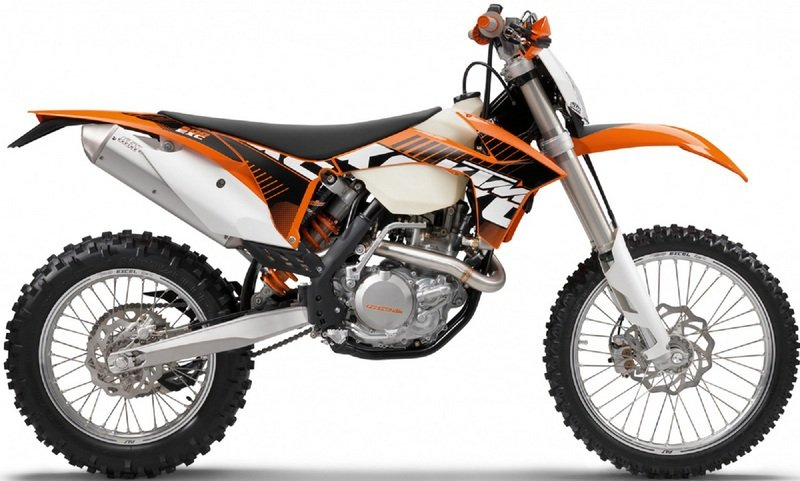 2012 KTM 500 EXC High Resolution Exterior - image 435509