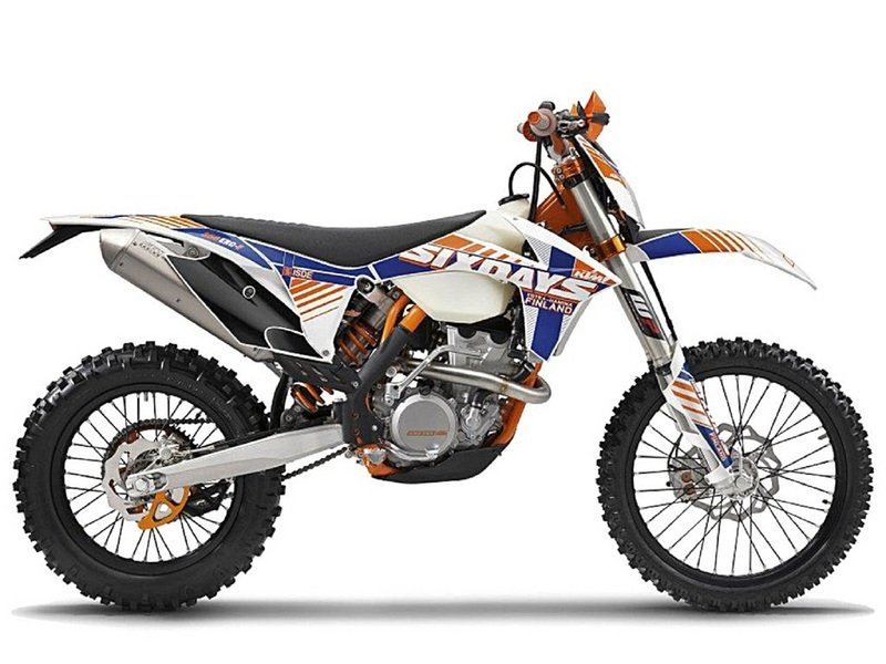 2012 KTM 500 EXC Six Days High Resolution Exterior - image 436015