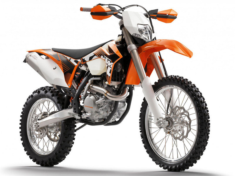2012 KTM 500 EXC Six Days High Resolution Exterior - image 436000