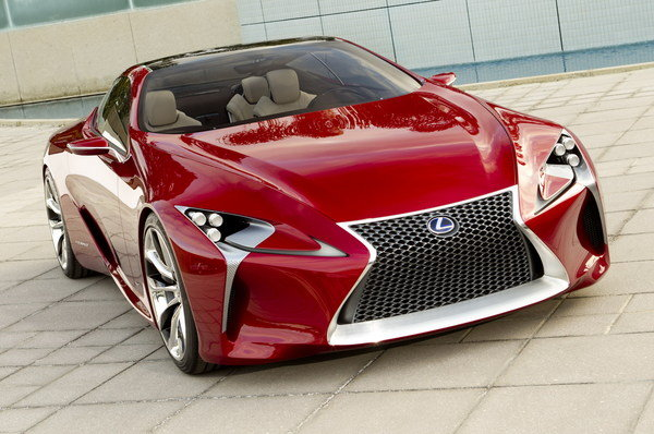 Lexus LF-LC Concept Headed To Production