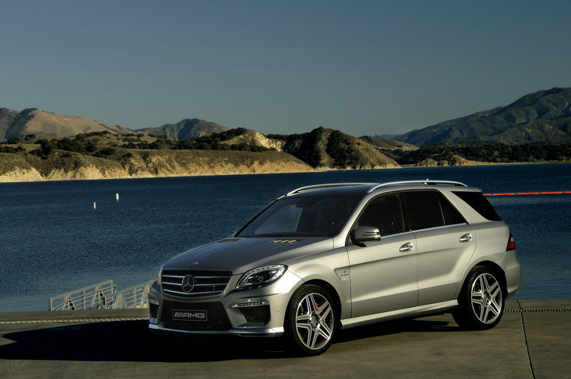 2012 Mercedes ML63 AMG High Resolution Exterior - image 436077