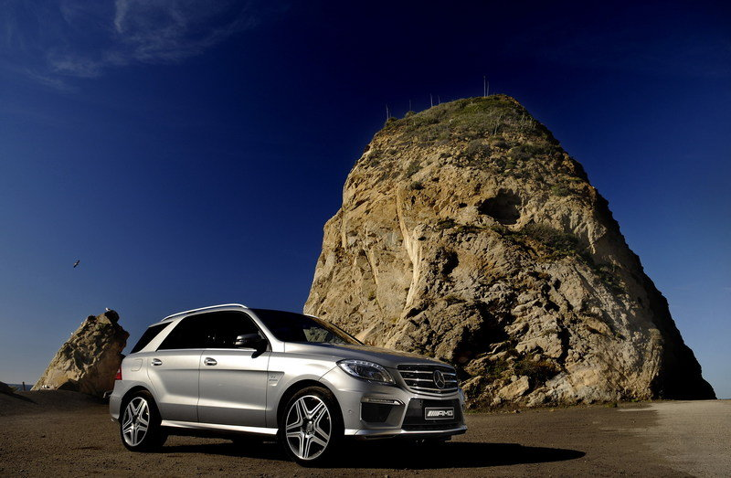 2012 Mercedes ML63 AMG High Resolution Exterior - image 436080