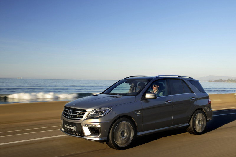2012 Mercedes ML63 AMG High Resolution Exterior - image 436090