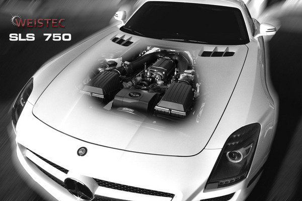 Mercedes SLS AMG by Weistec Engineering