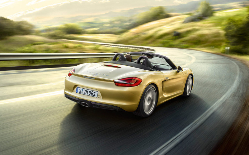 2013 - 2015 Porsche Boxster High Resolution Exterior Wallpaper quality - image 433861