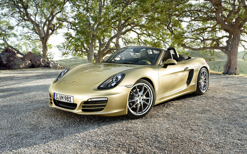 2013 - 2015 Porsche Boxster High Resolution Exterior - image 433864