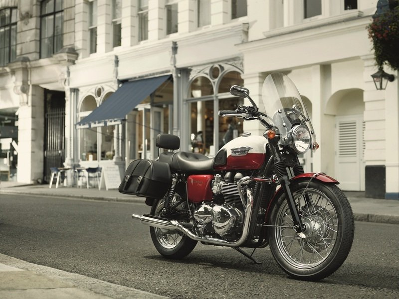 2012 Triumph Bonneville T100 High Resolution Exterior - image 434150