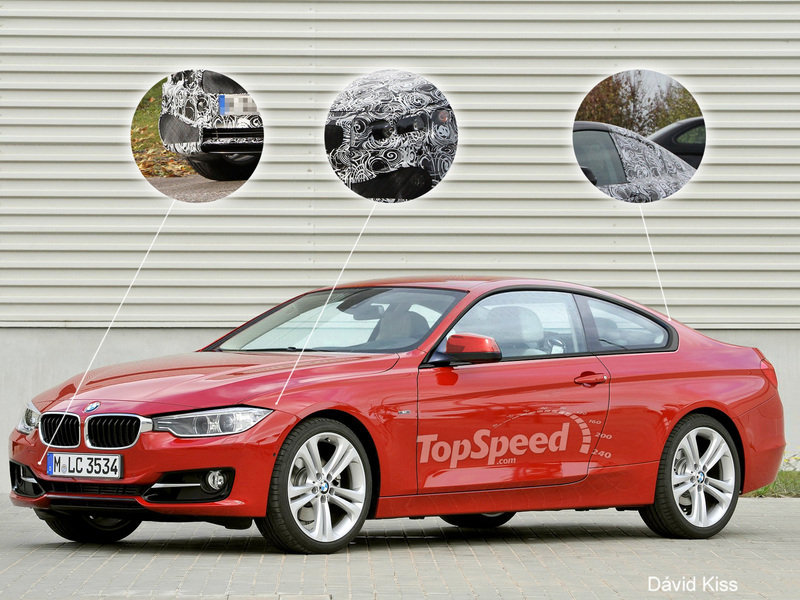 2014 BMW 4 Series Coupe Exclusive Renderings - image 432475