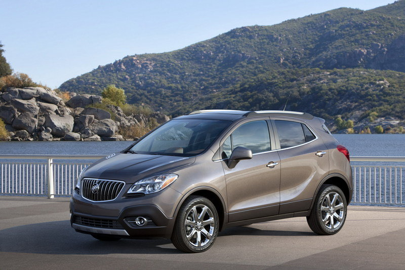2013 Buick Encore High Resolution Exterior - image 433399