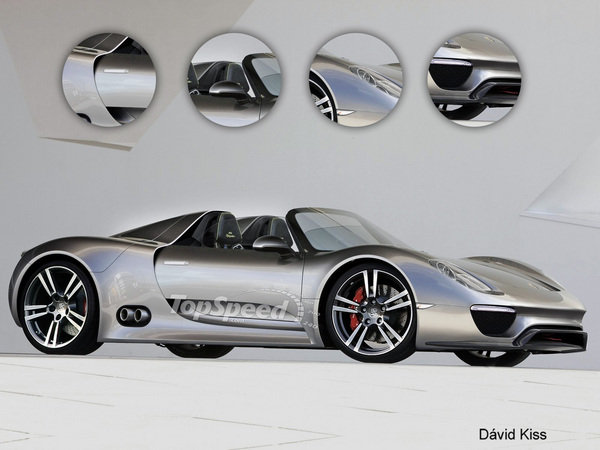 top speed rendering 2013 porsche 918 spyder car news top speed. Black Bedroom Furniture Sets. Home Design Ideas