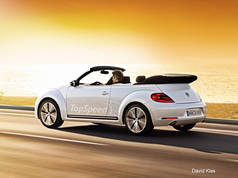 2013 Volkswagen Beetle Cabrio Computer Renderings and Photoshop - image 436059