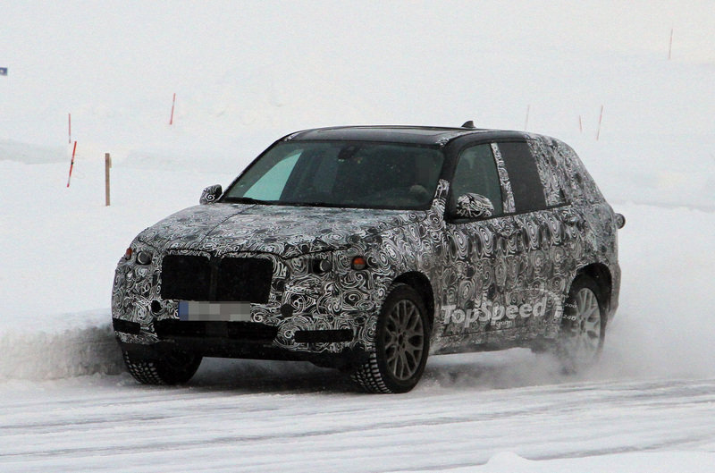 Spy Shots: Next BMW X5 caught testing again, but still covered up