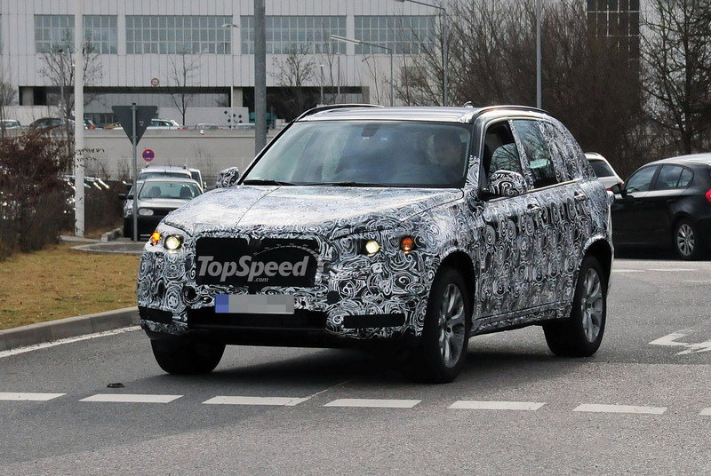 Spy Shots: Next BMW X5 has begun testing