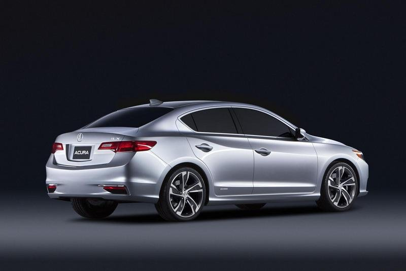 2012 Acura ILX Concept High Resolution Exterior - image 433412