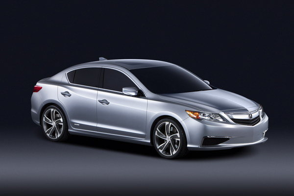 2012 Acura ILX Concept  car review @ Top Speed