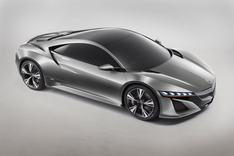2012 Acura NSX Concept High Resolution Exterior - image 433286