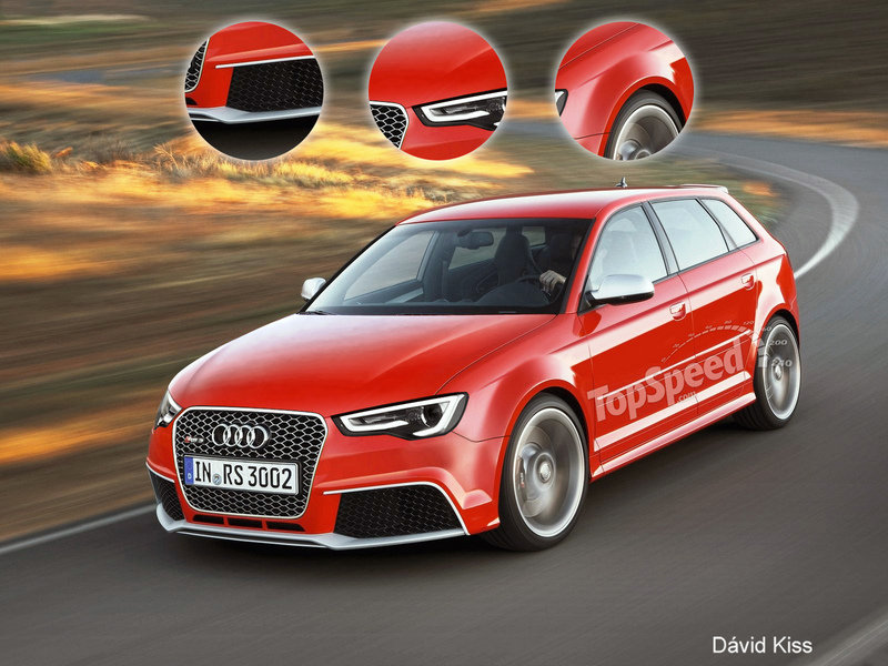 2015 Audi RS3 Exclusive Renderings - image 436311
